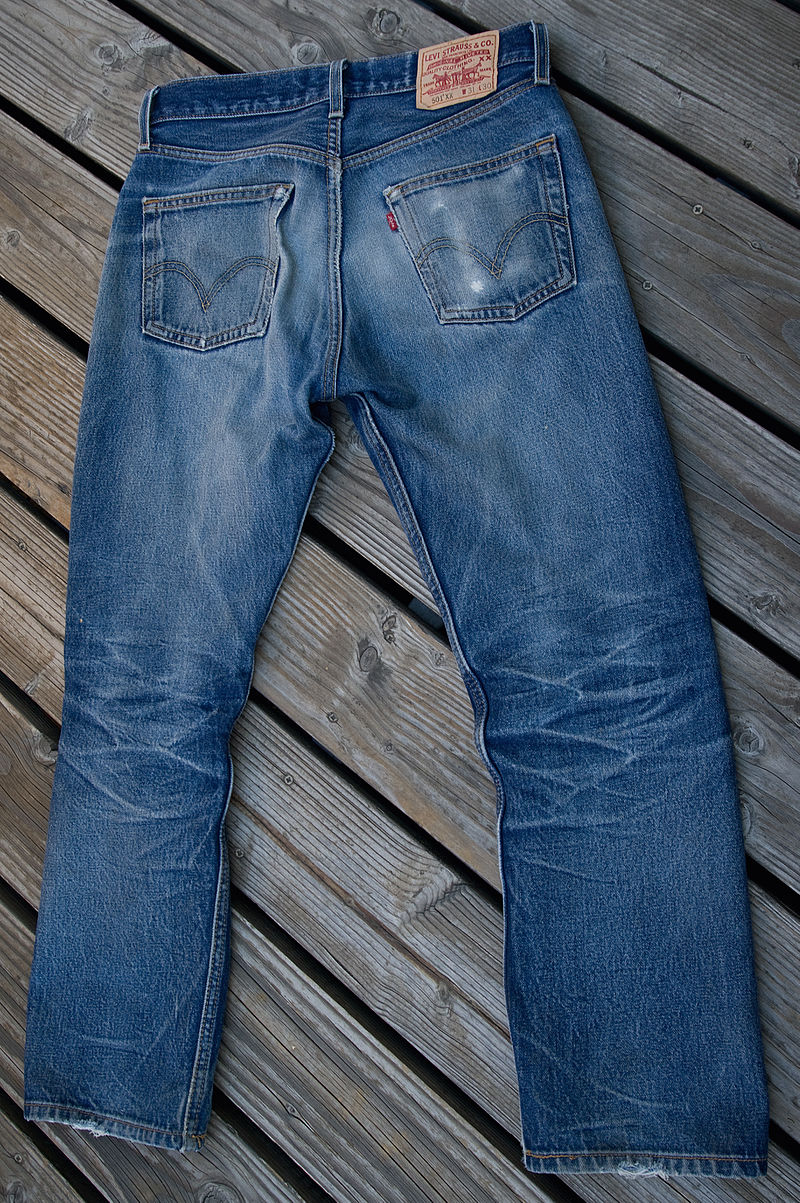 b39e66859db Levi Strauss Co. begun selling bell-bottom jeans on March 11, 1969 ...