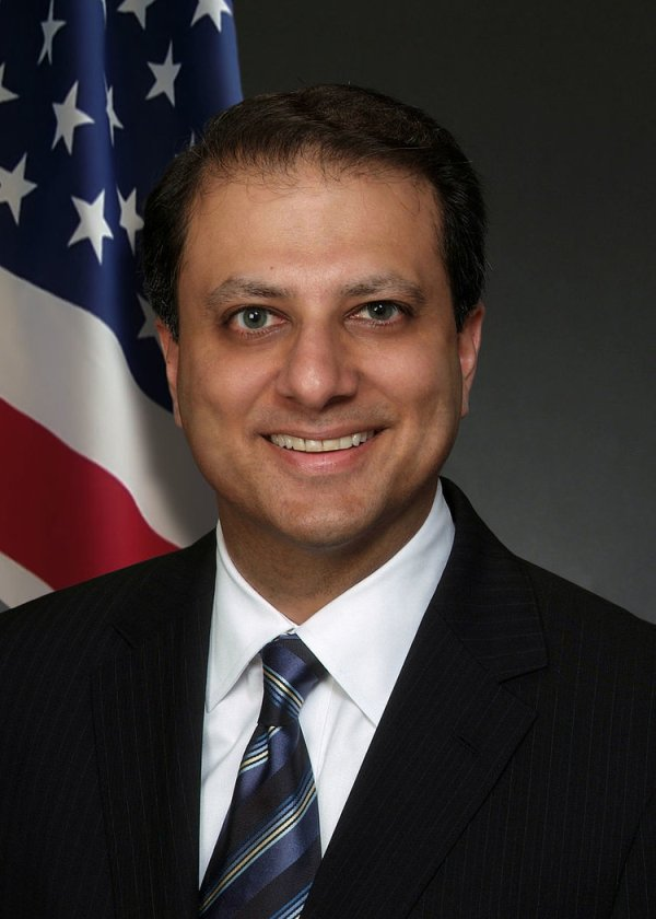 Preet Bharara confirmed as Attorney General, Jeff Sessions skips vote