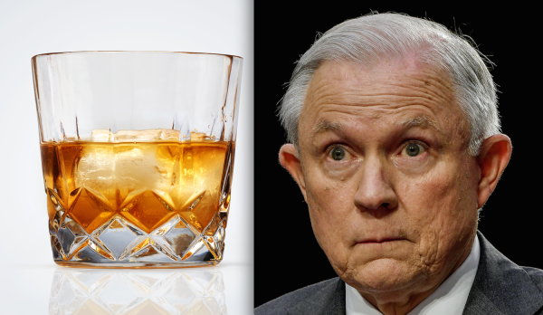 "Sessions insists he was ""blackout drunk"" throughout 2016 campaign"