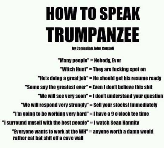trumpspeak